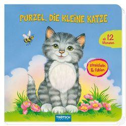 """Fühlbuch """"Purzel, die kleine Katze"""""""