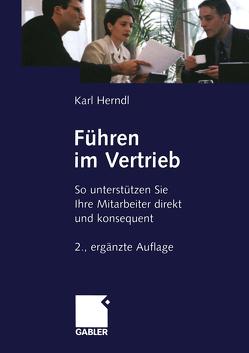 Führen im Vertrieb von Herndl,  Karl