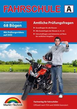 Führerschein Fragebogen Klasse A, A1, A2 – Motorrad Theorieprüfung original amtlicher Fragenkatalog auf 68 Bögen