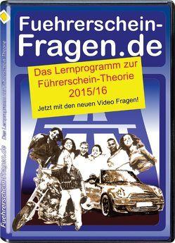 Fuehrerschein-Fragen.de 2015-16 von Biedermann,  Klaus
