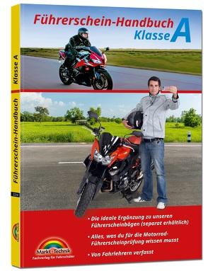 Führerschein Handbuch Klasse A, A1, A2 – Motorrad – top aktuell