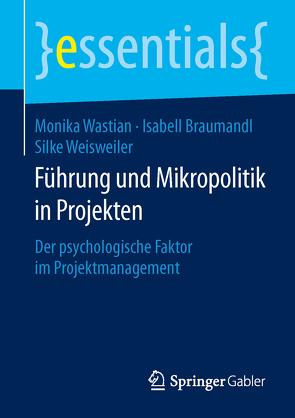 Führung und Mikropolitik in Projekten von Braumandl,  Isabell, Wastian,  Monika, Weisweiler,  Silke