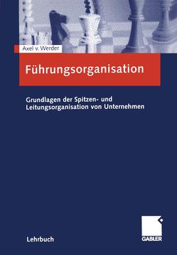 Führungsorganisation von von Werder,  Axel