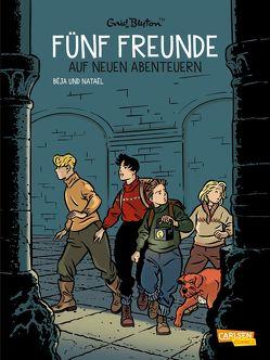 Fünf Freunde 2: Fünf Freunde auf neuen Abenteuern von Béja, Blyton,  Enid, Nataël, von der Weppen,  Annette