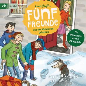 Fünf Freunde und das Weihnachtsgeheimnis von Blyton,  Enid, Clarén,  Marius, Raidt,  Gerda