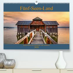 Fünf-Seen-Land (Premium, hochwertiger DIN A2 Wandkalender 2020, Kunstdruck in Hochglanz) von Marufke,  Thomas