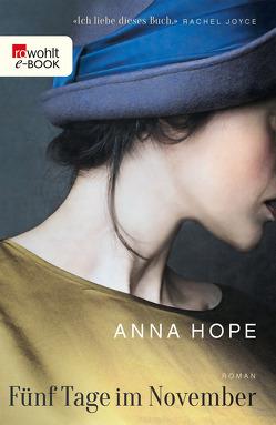 Fünf Tage im November von Hope,  Anna, Schwaab,  Judith
