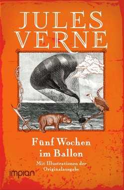 Fünf Wochen im Ballon von Verne,  Jules