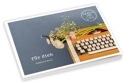für dich – Postkartenbuch von Brall,  Stephanie