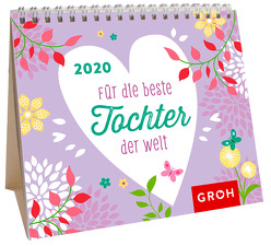 Für die beste Tochter der Welt 2020: Mini-Monatskalender von Groh Redaktionsteam
