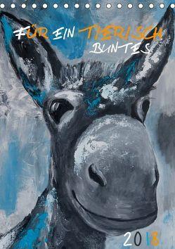 Für ein tierisch buntes 2019 (Tischkalender 2019 DIN A5 hoch) von Daniel/DANI+,  Uta