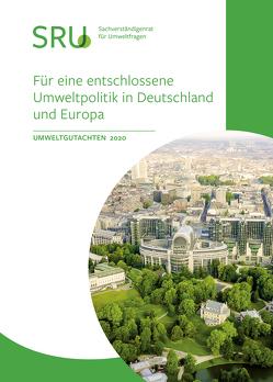 Für eine entschlossene Umweltpolitik in Deutschland und Europa