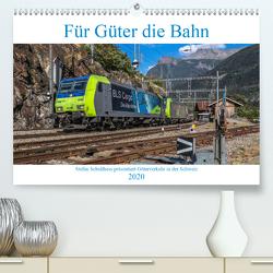 Für Güter die Bahn (Premium, hochwertiger DIN A2 Wandkalender 2020, Kunstdruck in Hochglanz) von Schulthess,  Stefan
