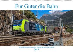 Für Güter die Bahn (Wandkalender 2019 DIN A2 quer) von Schulthess,  Stefan