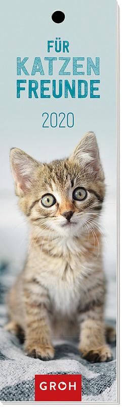 Für Katzenfreunde 2020: Lesezeichenkalender von Groh Redaktionsteam