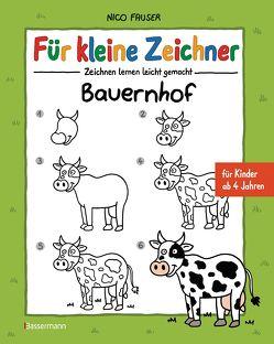 Für kleine Zeichner – Bauernhof von Fauser,  Nico