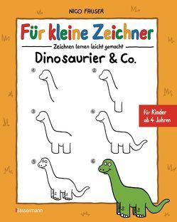 Für kleine Zeichner – Dinosaurier & Co. von Fauser,  Nico
