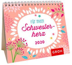 Für mein Schwesterherz 2020: Mini-Monatskalender von Groh Redaktionsteam