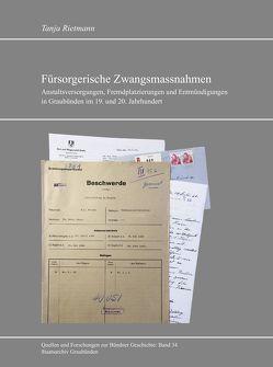 Fürsorgerische Zwangsmassnahmen von Rietmann,  Tanja