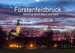 Fürstenfeldbruck – Streifzug durch Natur und Stadt (Wandkalender 2019 DIN A3 quer) von Bogumil,  Michael