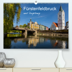 Fürstenfeldbruck und Umgebung (Premium, hochwertiger DIN A2 Wandkalender 2021, Kunstdruck in Hochglanz) von BÖHME,  Ferry