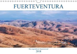 Fuerteventura, die ungezähmte Kanareninsel (Wandkalender 2018 DIN A4 quer) von Kruse,  Joana