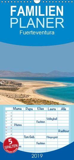 Fuerteventura – Familienplaner hoch (Wandkalender 2019 , 21 cm x 45 cm, hoch) von Ange