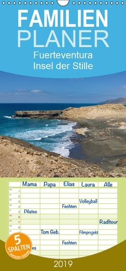 Fuerteventura, Insel der Stille – Familienplaner hoch (Wandkalender 2019 , 21 cm x 45 cm, hoch) von Friedchen,  Michael