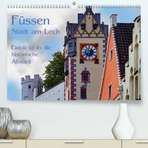 Füssen – Stadt am Lech (Premium, hochwertiger DIN A2 Wandkalender 2020, Kunstdruck in Hochglanz) von brigitte jaritz,  photography