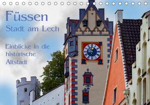 Füssen – Stadt am Lech (Tischkalender 2020 DIN A5 quer) von brigitte jaritz,  photography