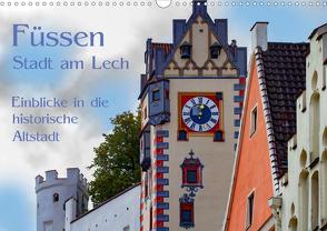 Füssen – Stadt am Lech (Wandkalender 2020 DIN A3 quer) von brigitte jaritz,  photography
