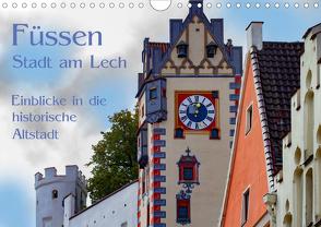 Füssen – Stadt am Lech (Wandkalender 2020 DIN A4 quer) von brigitte jaritz,  photography