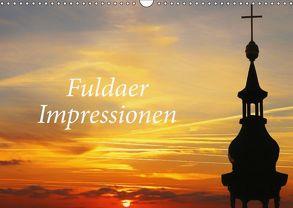 Fuldaer Impressionen (Wandkalender 2018 DIN A3 quer) von Nerlich,  Cornelia