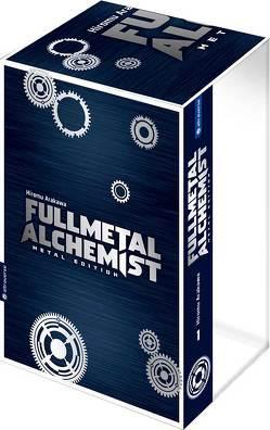 Fullmetal Alchemist Metal Edition mit Box 01 von Arakawa,  Hiromu