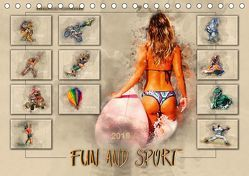 Fun and Sport (Tischkalender 2019 DIN A5 quer) von Roder,  Peter