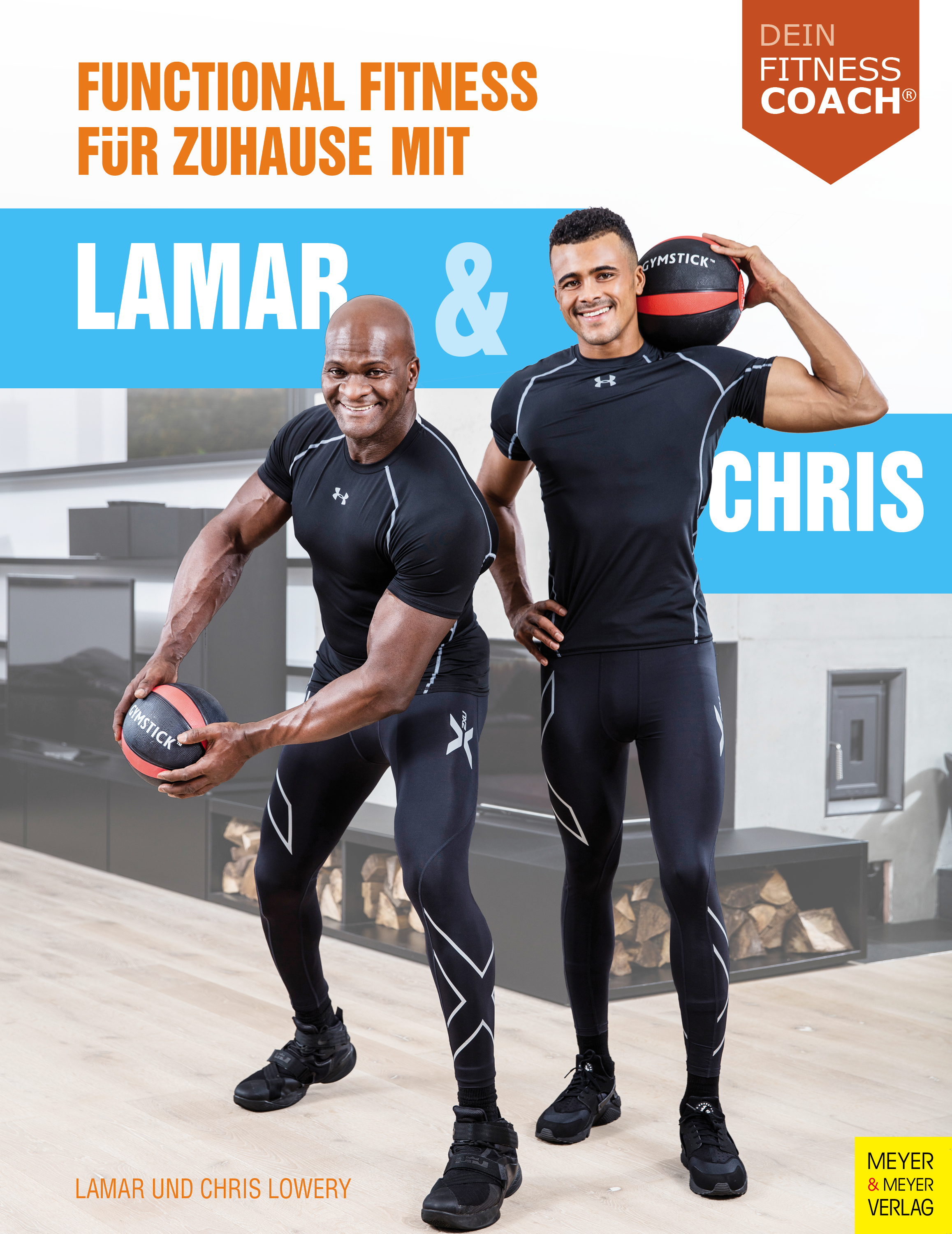 functional fitness f r zuhause mit lamar und chris dein fitnesscoach. Black Bedroom Furniture Sets. Home Design Ideas