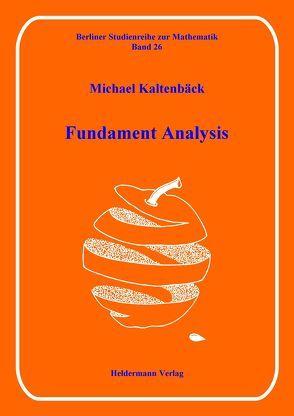 Fundament Analysis von Kaltenbäck,  Michael
