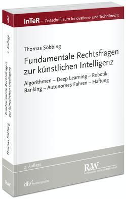 Fundamentale Rechtsfragen zur Künstlichen Intelligenz von Söbbing,  Thomas