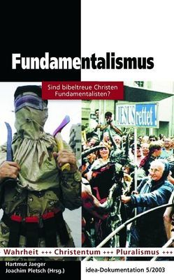 Fundamentalismus von Jaeger,  Hartmut, Pletsch,  Joachim
