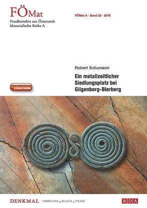 Fundberichte Materialheft A23 von Bundesdenkmalamt