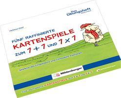 Fünf raffinierte Kartenspiele zum 1 + 1 und 1 x 1 von Dast,  Helmut