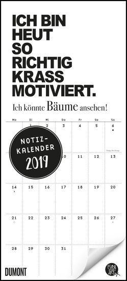 Funi Smart Art Notizkalender 2019 – Wandkalender – Funny Quotes, Sprüche – Format 22 x 49 cm von DUMONT Kalenderverlag, FUNI SMART ART