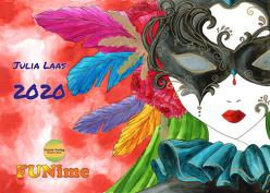 FUNime Kalender 2020 von Laas,  Julia