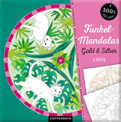 Funkel-Mandalas Gold & Silber von Kronheimer,  Ann