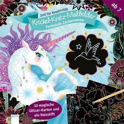 Funkelnde Zauberwesen. Krickel-Kratz-Malbilder von Boisson,  Marie Rose
