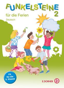 Funkelsteine 4 für die Ferien – Deutsch von Groihofer-Steidl,  Elisabeth, Höfer,  Christine