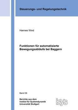 Funktionen für automatisierte Bewegungsabläufe bei Baggern von Wind,  Hannes