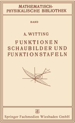Funktionen, Schaubilder und Funktionstafeln von Witting,  A.