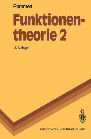 Funktionentheorie 2 von Remmert,  Reinhold