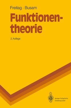 Funktionentheorie von Busam,  Rolf, Freitag,  Eberhard